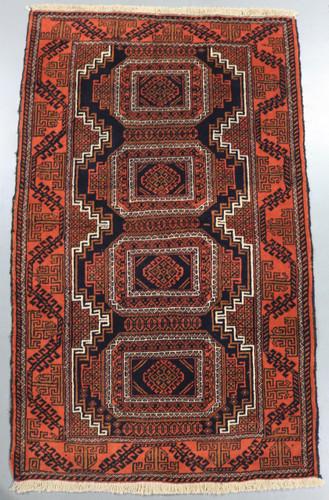 Baluchi Tribal Persian Rug (Ref 18597) 154x101cm