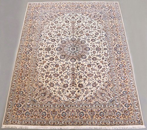 Pistachio Kashan Persian Rug (Ref 268) 384x295cm