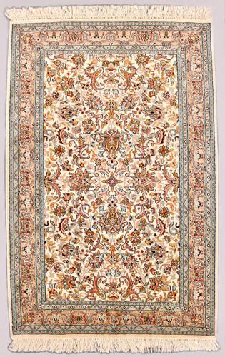 Kashmir Pure Silk Rug (Ref 2075) 179x120cm