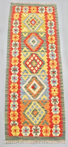 Veggie Dye Afghan Kilim (Ref 106909) 167x65cm
