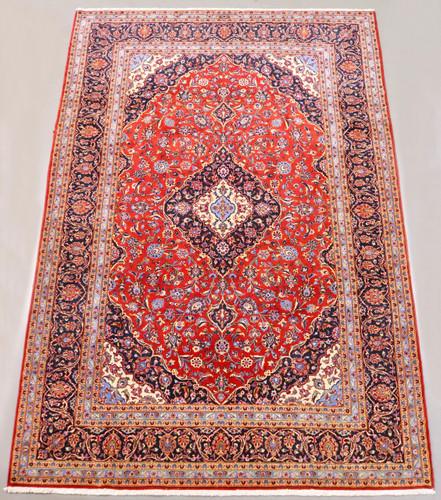 Kashan Kork Wool Persian Rug (Ref 314) 314x210cm