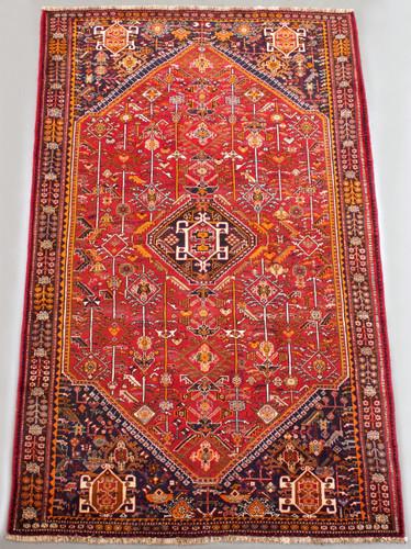 Shiraz Qashqai Vintage Persian Rug (Ref 140684) 269x160cm