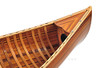 Display Cedar Strip Built Canoe Wooden Model
