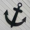 Metal Sailboat Anchor Nautical Ships Wall Decor
