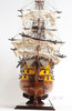 HMS Victory Painted Wood Tall Ship Model