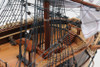 """USS Constitution 1798 Old Ironsides Wood Tall Ship Model 38"""""""