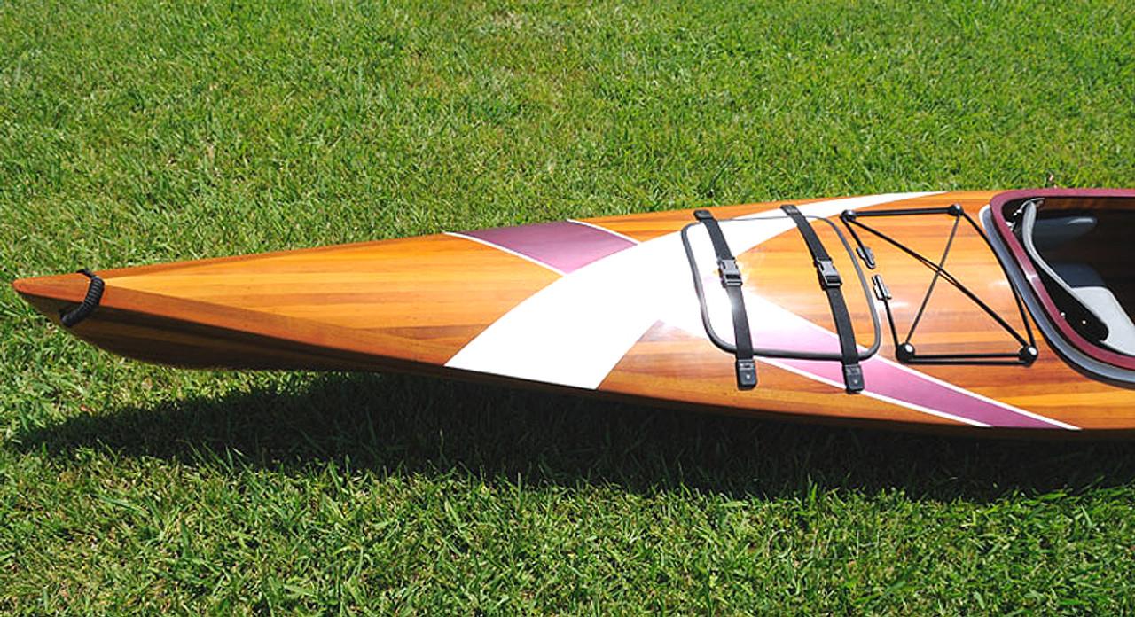 Cedar Wood Strip Kayak Stripes Canoe Boat