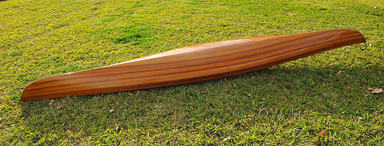 Cedar Wood Strip Kayak Stripes Woodenboat USA