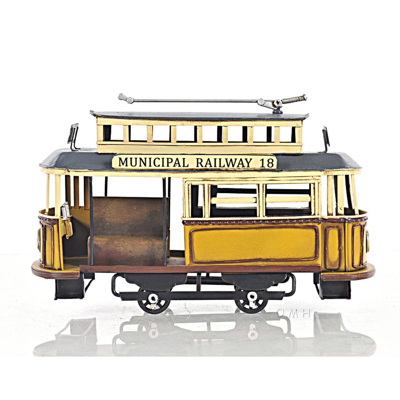 Trolley Streetcar Municipal Railway Cable Car Model