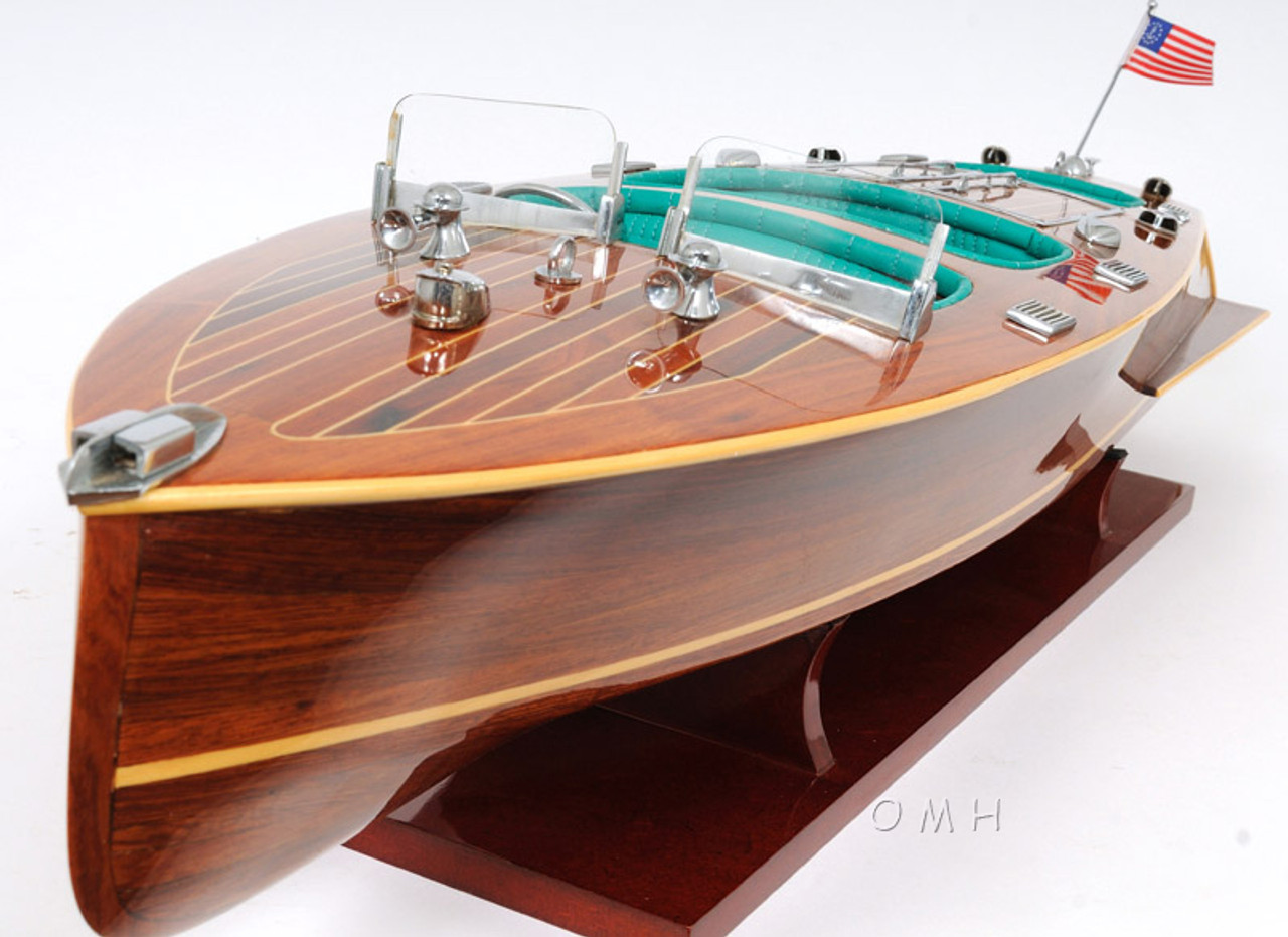 Chris Craft Triple Cockpit Speed Boat Model