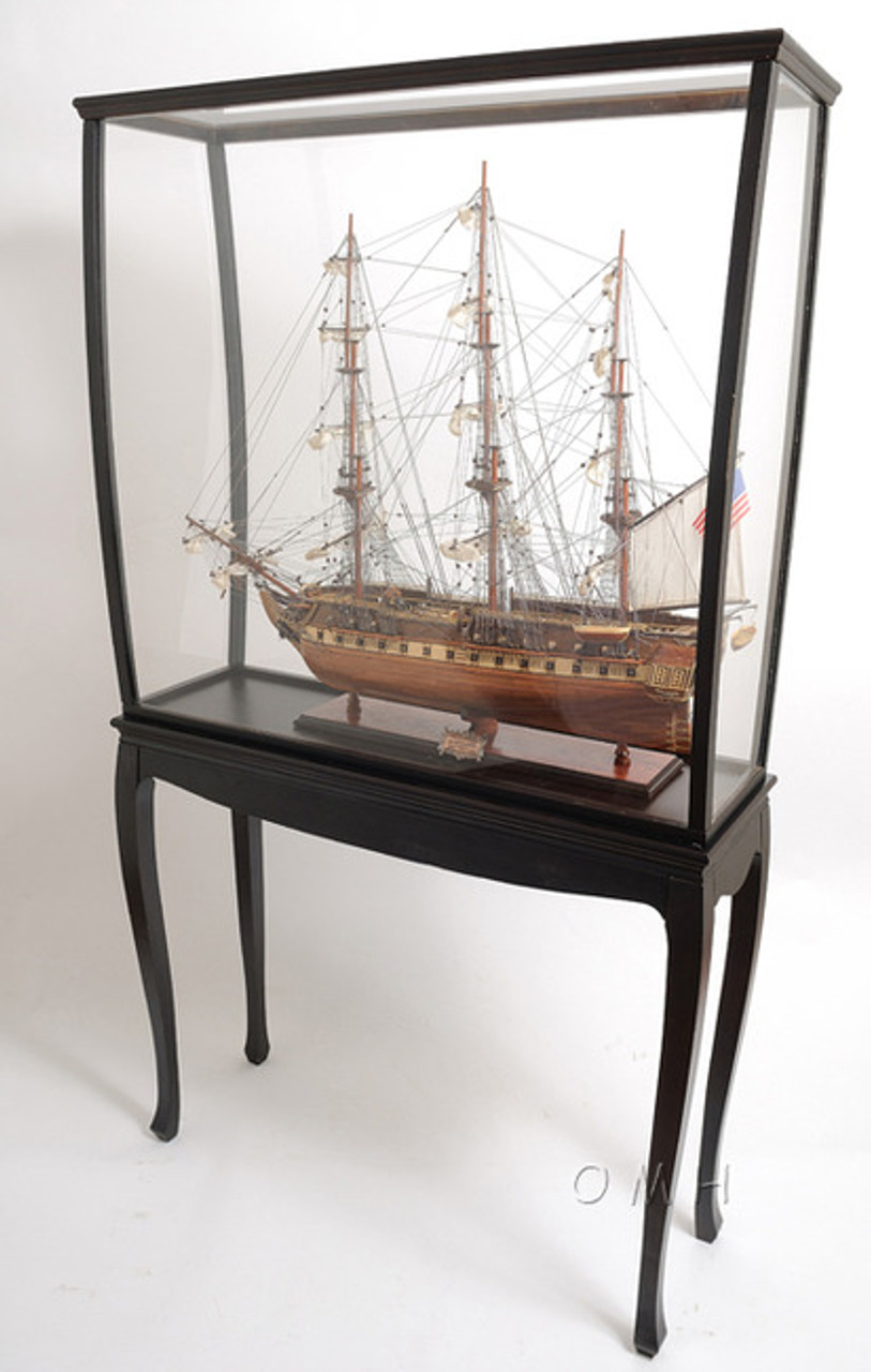 Tall Ship Model Boat Display Case Stand