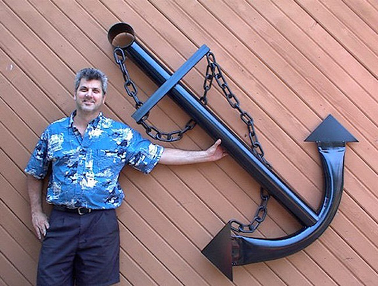 Metal Ships Anchor Wall Garden Art Decor