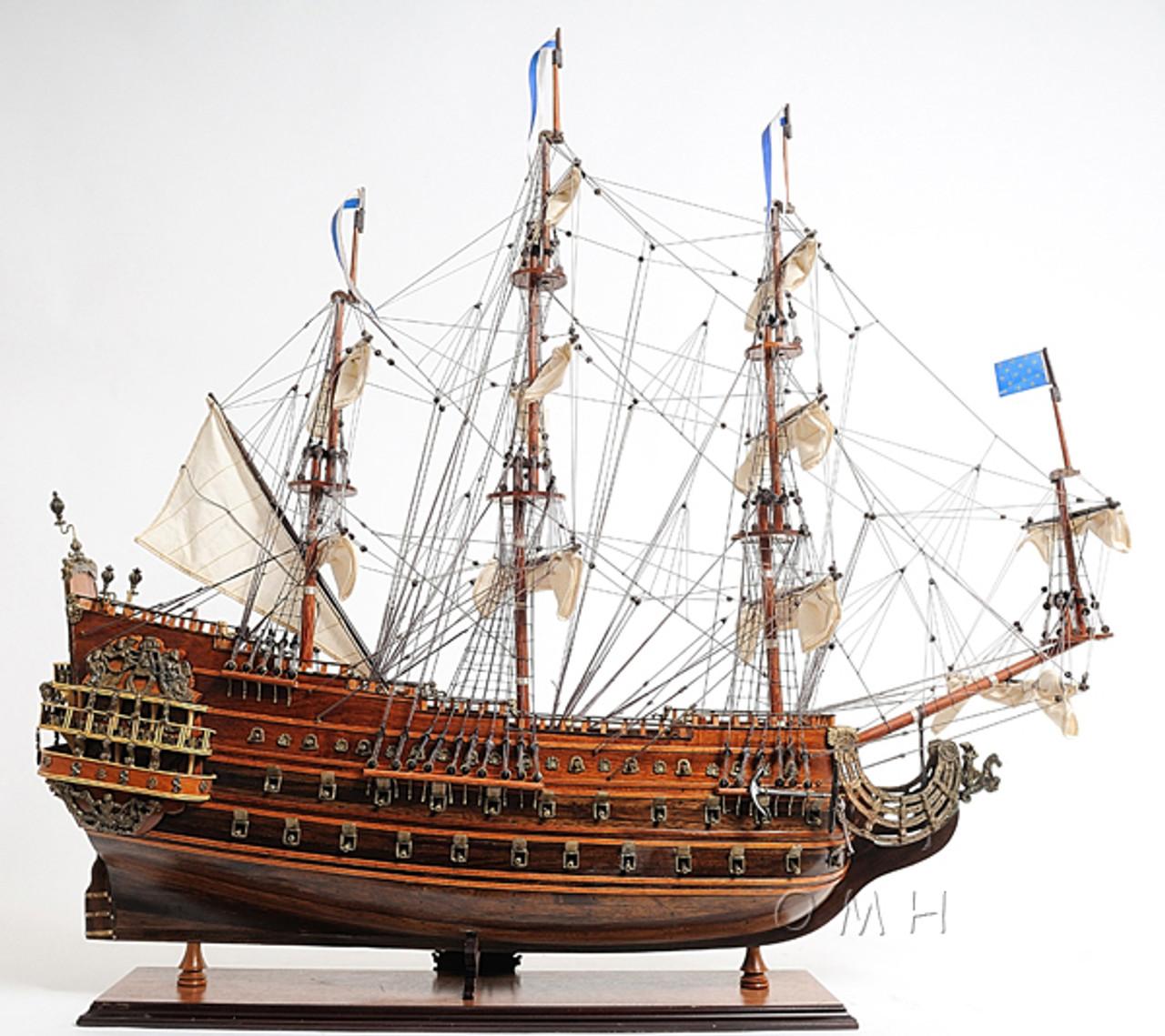 Soleil Royal Tall Ship Wooden Model Sun King