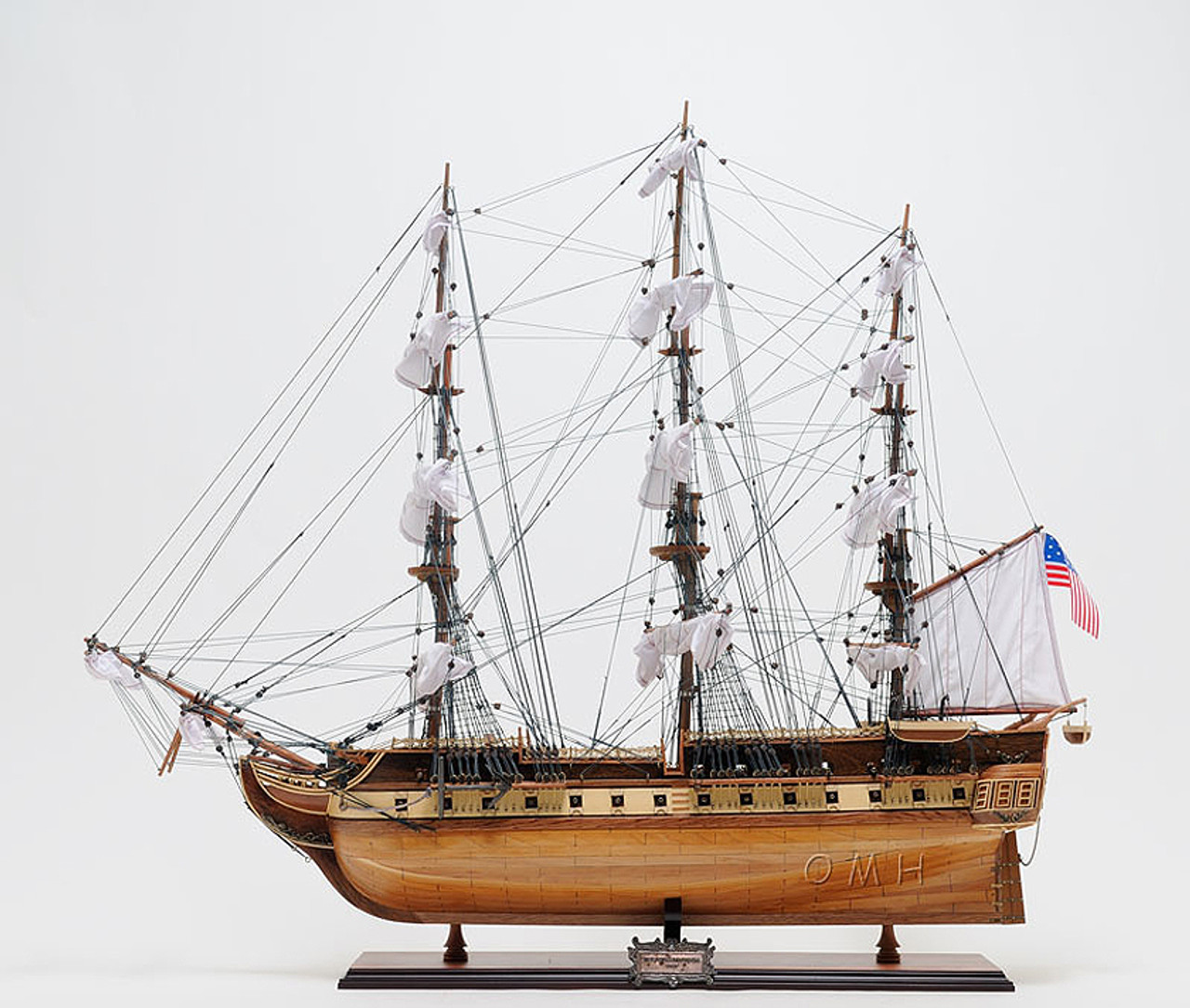 Constitution Old Ironsides 1798 Tall Ship Model