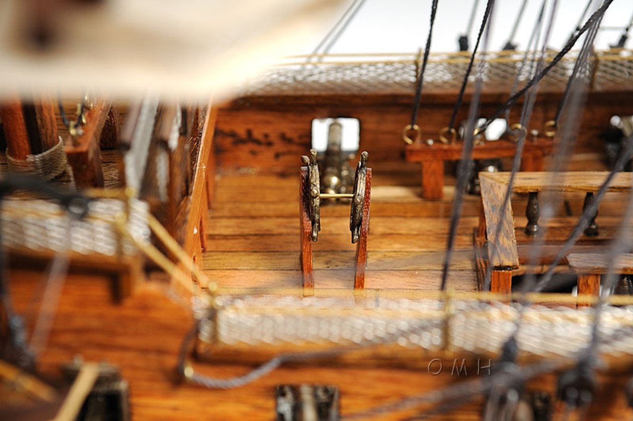 HMS Victory Wooden Model Lord Nelson's Flagship