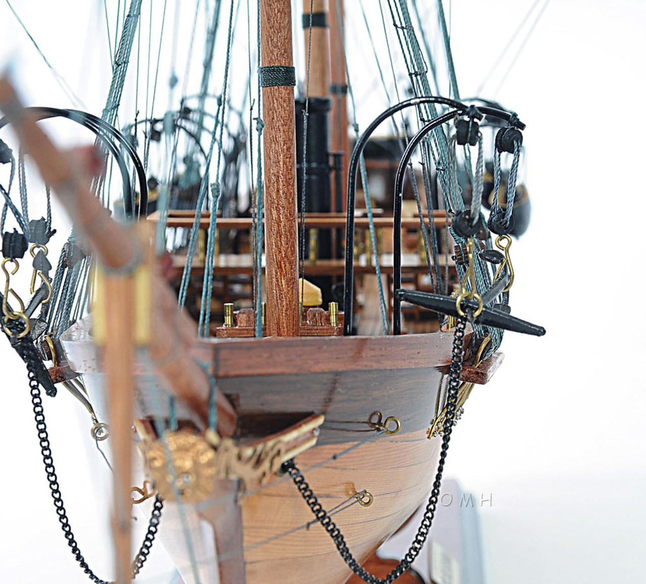 CSS Alabama Steam Ship Model Civil War Raider
