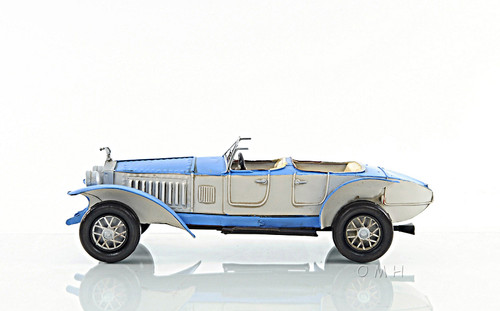 1928 Rolls Royce Phantom Torpedo Metal Car Model