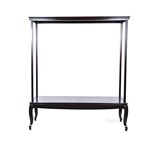 Wooden Display Case Cabinet Tall Ship Models