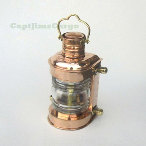 Brass Ships Masthead Lookout Lantern Oil Lamp