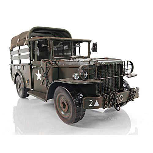 Dodge M42 Military Command Truck Metal Model