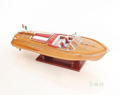 large riva aquarama speed boat wooden scale model 35 u0026quot  runabout
