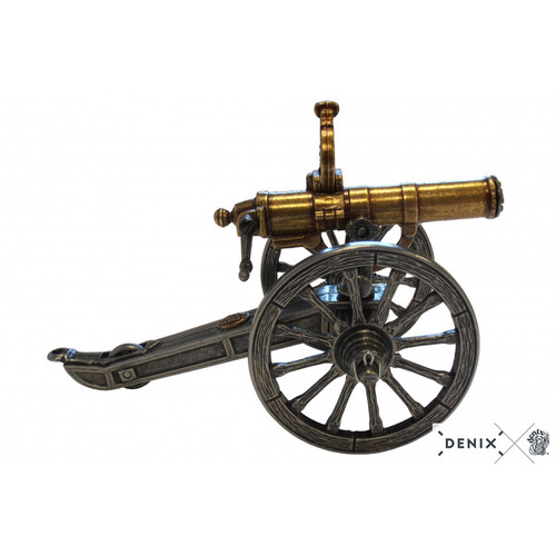 Civil War Gatling Gun Metal Display Model USA 1861
