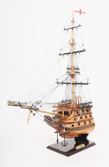 HMS Victory Bow Section Model Lord Nelsons Flagship