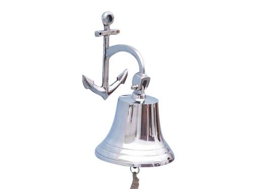 Chrome Plated Aluminum Ships Bell Anchor Bracket