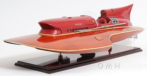 Arno Ferrari Hydroplane Power Speed Boat Model