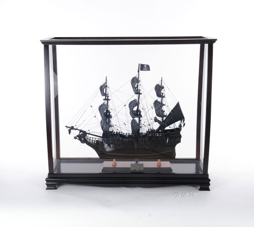 Tall Ship Yacht Sailboat Model Display Case