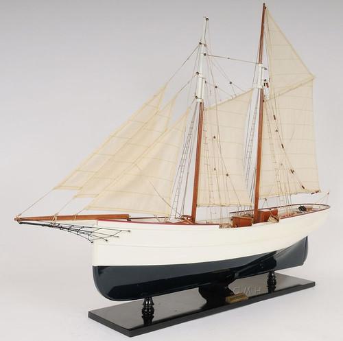 Pilot Schooner Wander Bird Wooden Ship Model