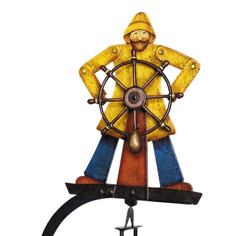 HelmsmanTetter Totter Tin Balance Folk Toy