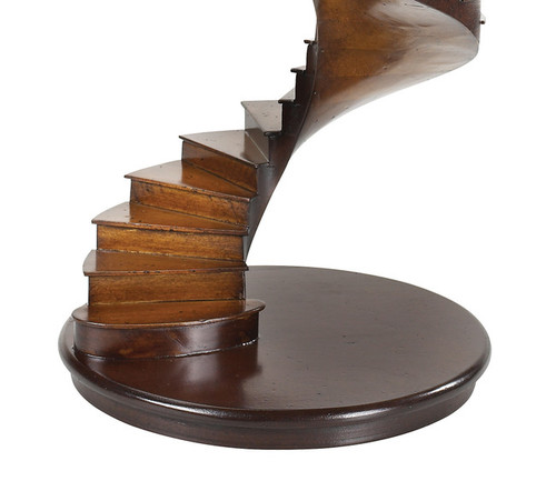 Spiral Stairs Architectural 3D Wooden Model Stair