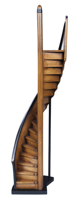 Lighthouse Steps Architectural 3D Wooden Stairs Model