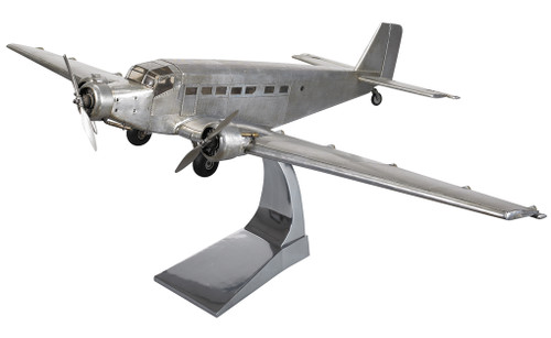 Junkers JU 52 Iron Annie Airplane Built Aircraft Model