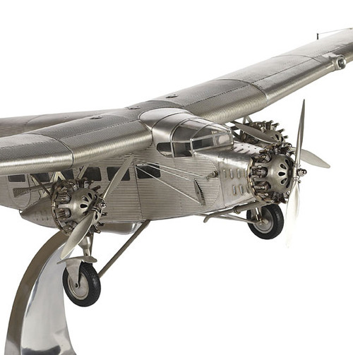 Tin Goose Ford Trimotor Airplane Aircraft Model