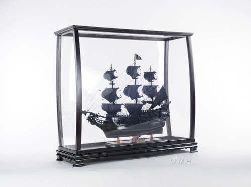 Tall Ship Model Display Case Table Top
