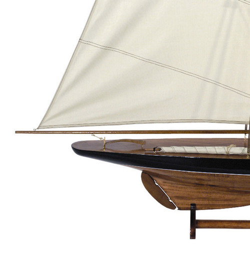 Blue 1901 Cup Contender Pond Model Sailboat