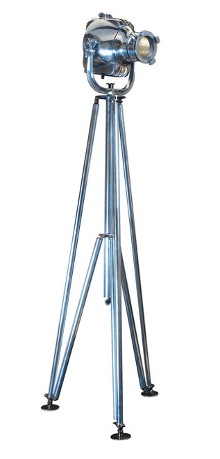 Cinema Movie Spotlight Floor Lamp Aluminum Tripod