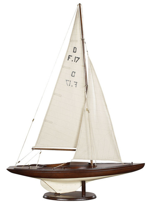 Dragon Olympic Racer One Design Sailboat Model