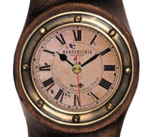 WWI Airplane Propeller Clock  Antiqued Flight Decor