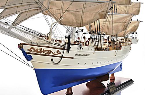 Windjammer Christian Radich Tall Training Ship Model