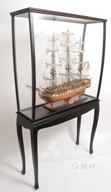 Ship Model Boat Display Case Cabinet Stand