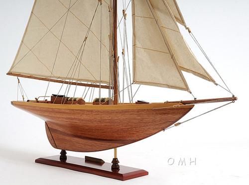 Eric Tabarlys Pen Duick Yacht Wooden Model