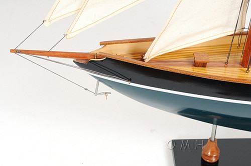 Eric Tabarlys Pen Duick Painted Model Sailboat