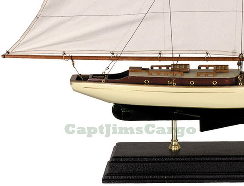 1930s Classic Yacht Wooden Model Nautical Decor