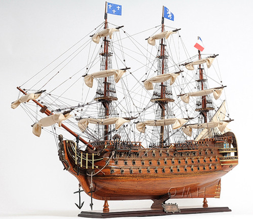Royal Louis 1779 Wooden Model Tall Ship