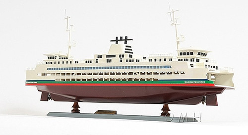 Washington State Car Ferry Boat Model Ship
