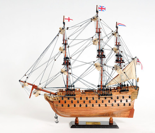 HMS Victory Model Tall Ship Nelsons Flagship