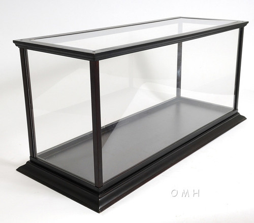 Boat Model Wooden Display Case Table Top